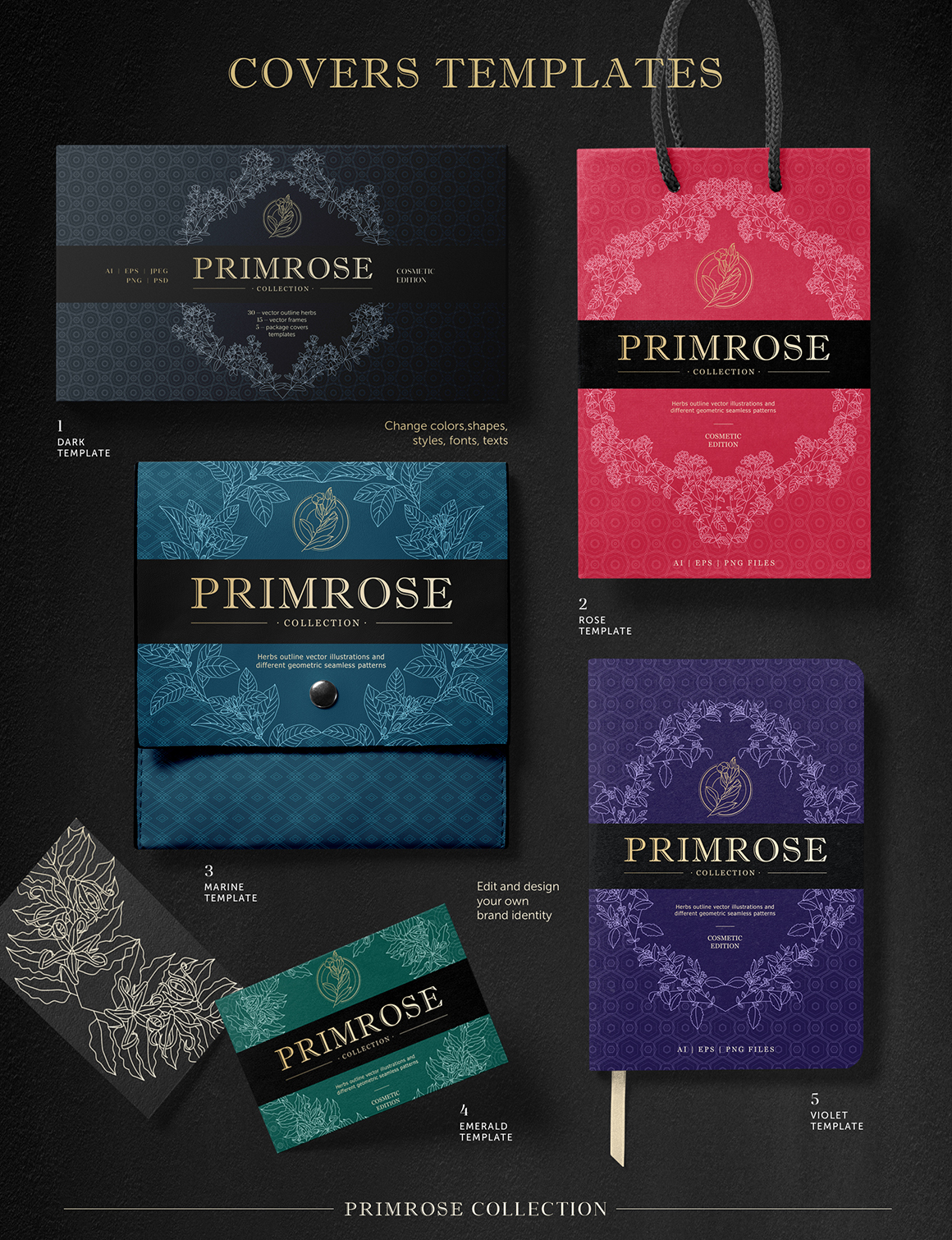 PRIMROSE - Vectors Collection
