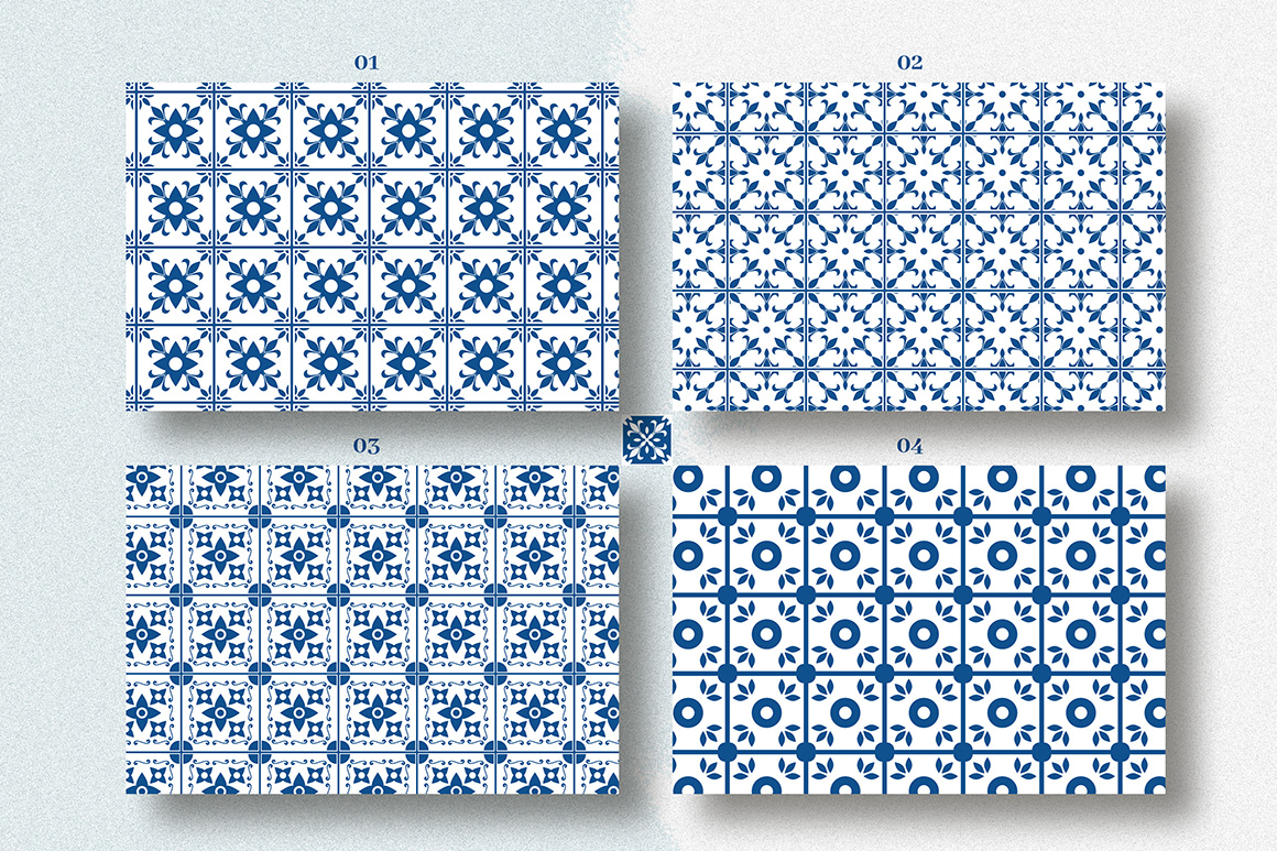 Seamless Mediterranean Patterns