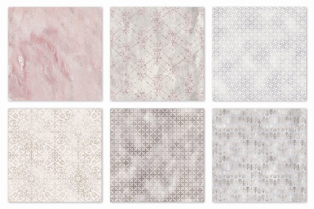 Seamless Shabby Chic Digital Papers