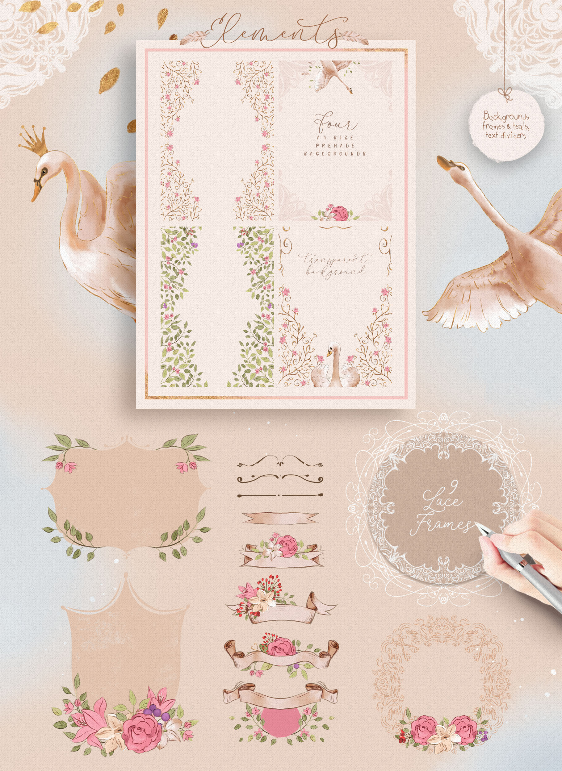 The Princess Swan Collection