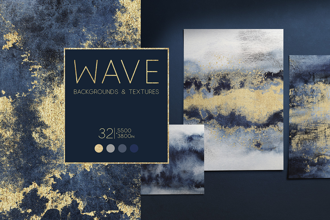 Wave - Backgrounds And Textures