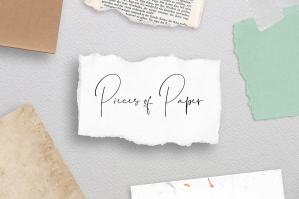 60+ Paper Pieces and Snippets