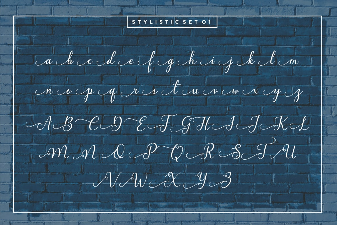 Bluebell - Calligraphy Font