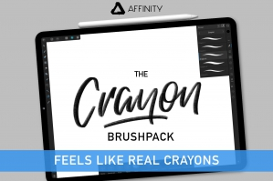 Crayon Brushpack for Affinity