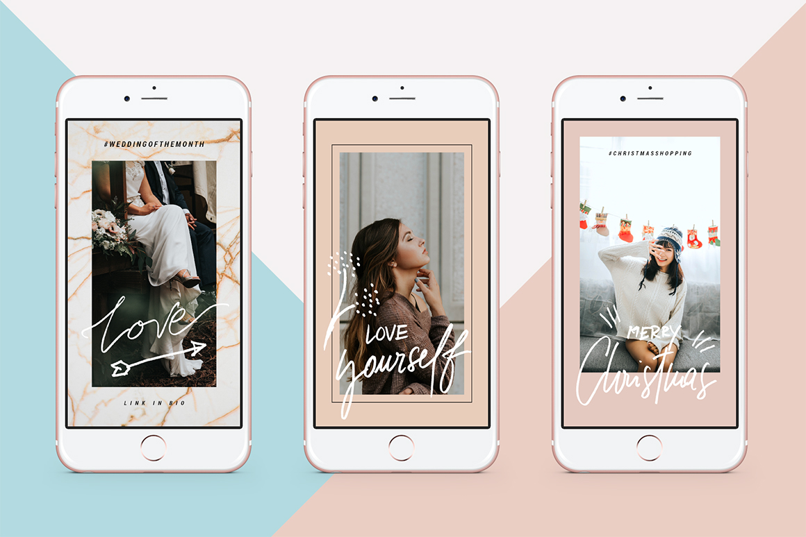 Fall & Winter Animated Instagram Stories