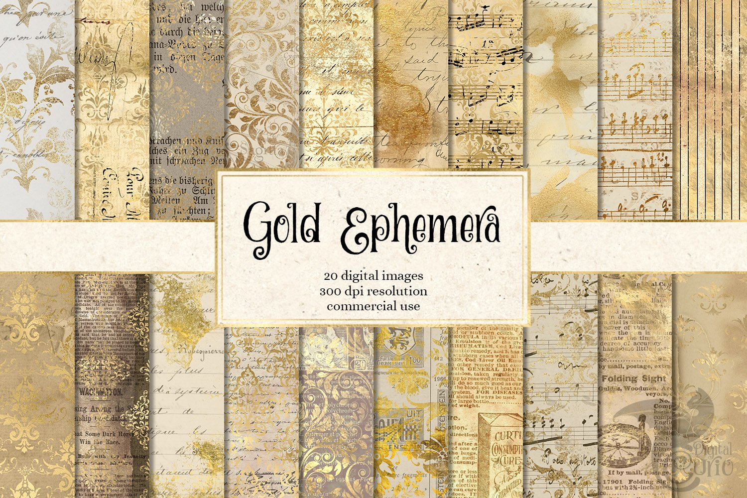 Gold Ephemera
