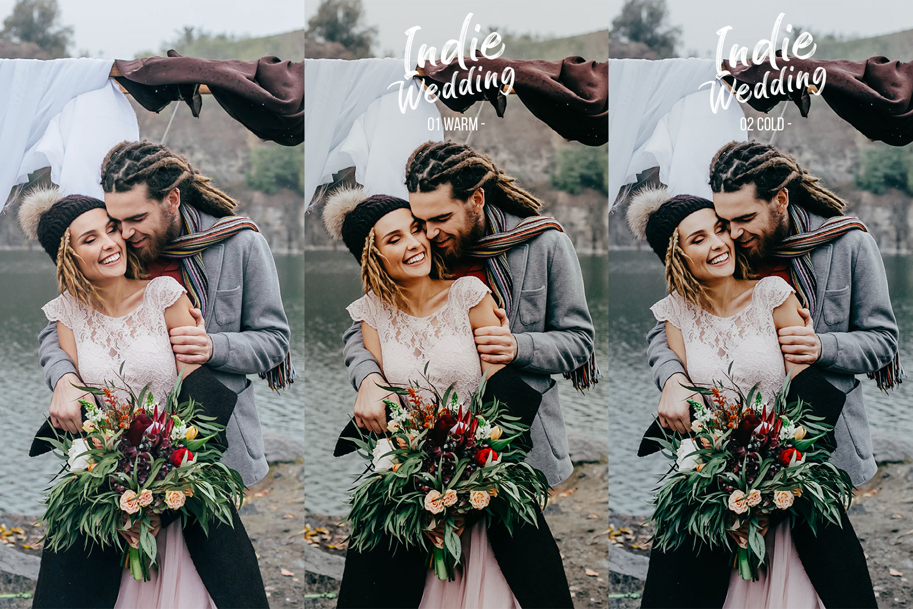 Indie Wedding Presets for Lightroom & ACR