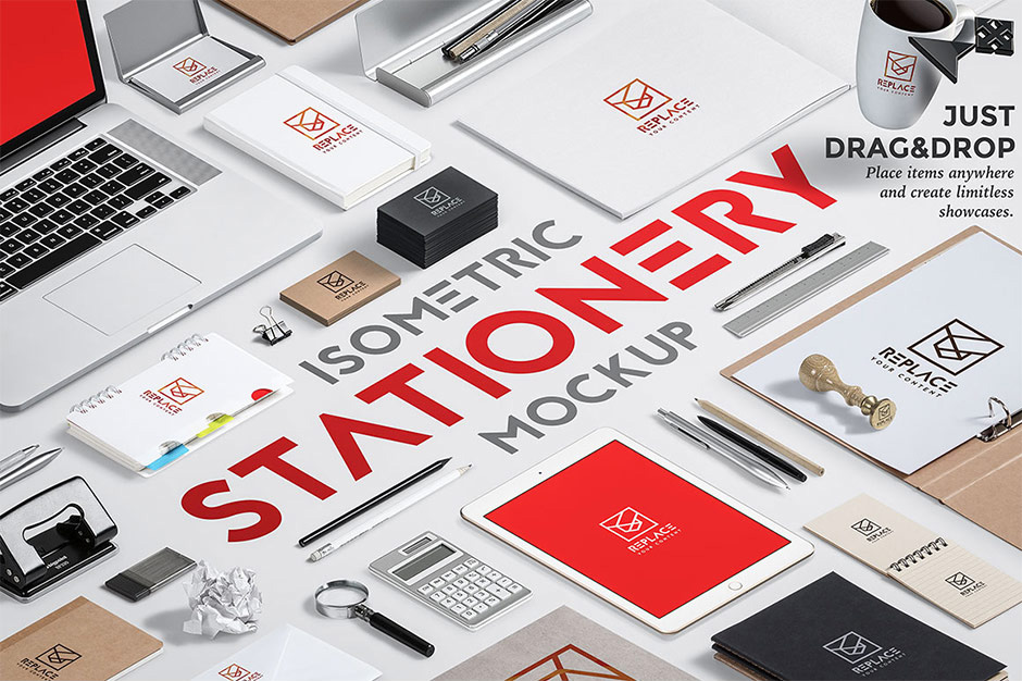 High Quality Branding and Stationery Mockups