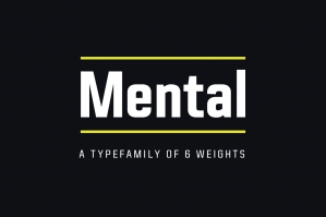 Mental Typefamily