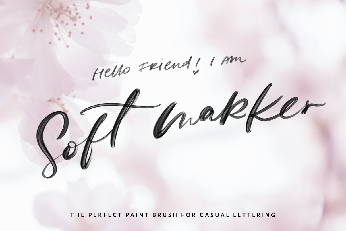 Procreate Brushes for Modern Lettering