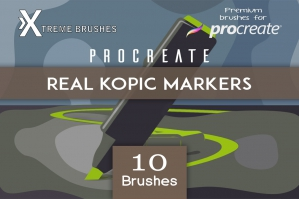 Procreate Real Kopic Markers