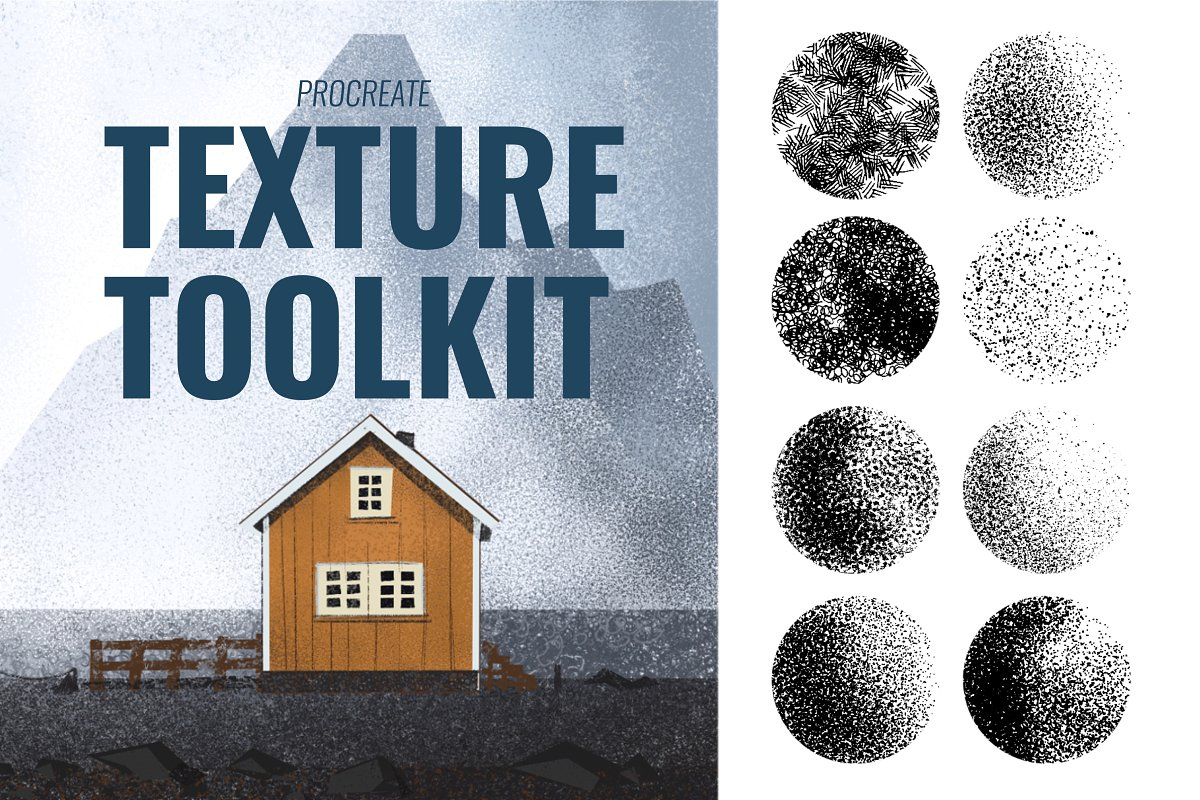 Procreate Texture Toolkit