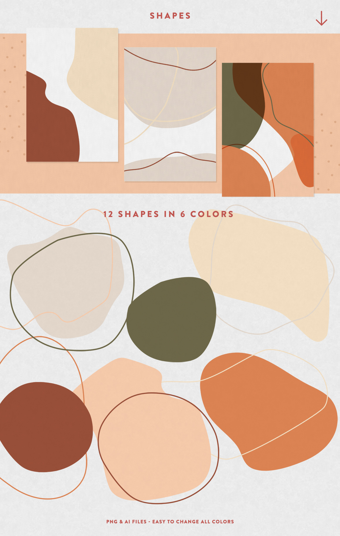Abstract Portraits & Elements