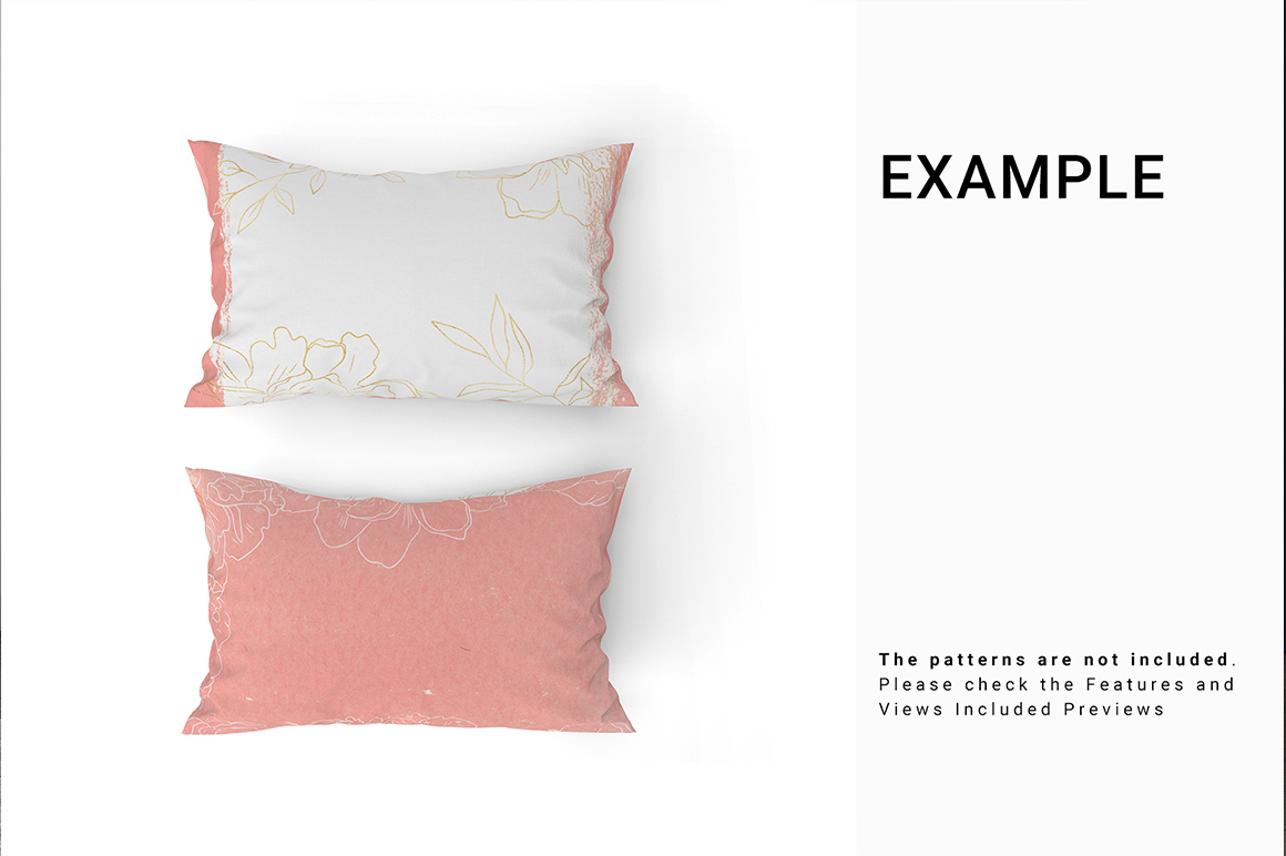 Bed Linens Mockup Set No.7