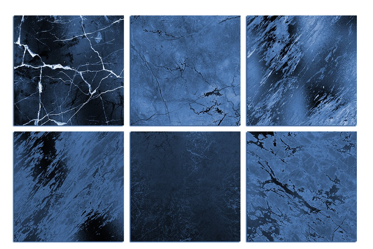 Blue Marble Textured Backgrounds