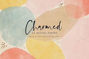 Charmed Digital Papers