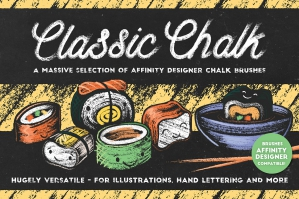 Classic Chalk – Affinity Brushes