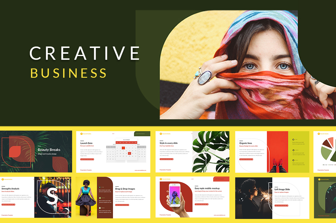 Creative Business Google Slides