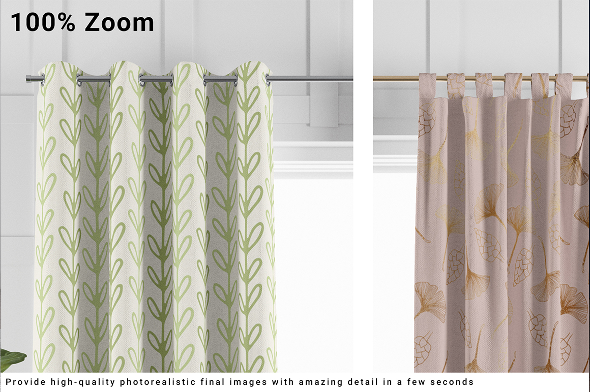 Curtains 5 Types Vol.1