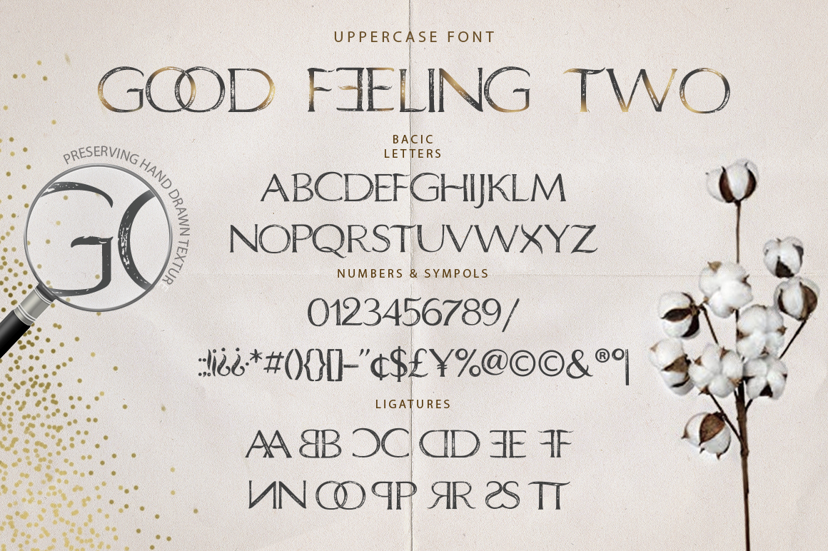 Good Feeling - Modern Duo Moniline Font