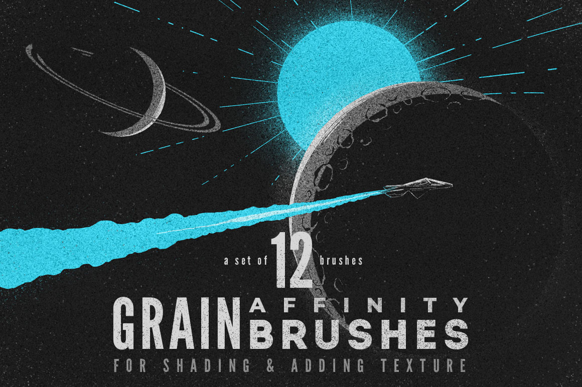 Grain Volume Affinity Brushes