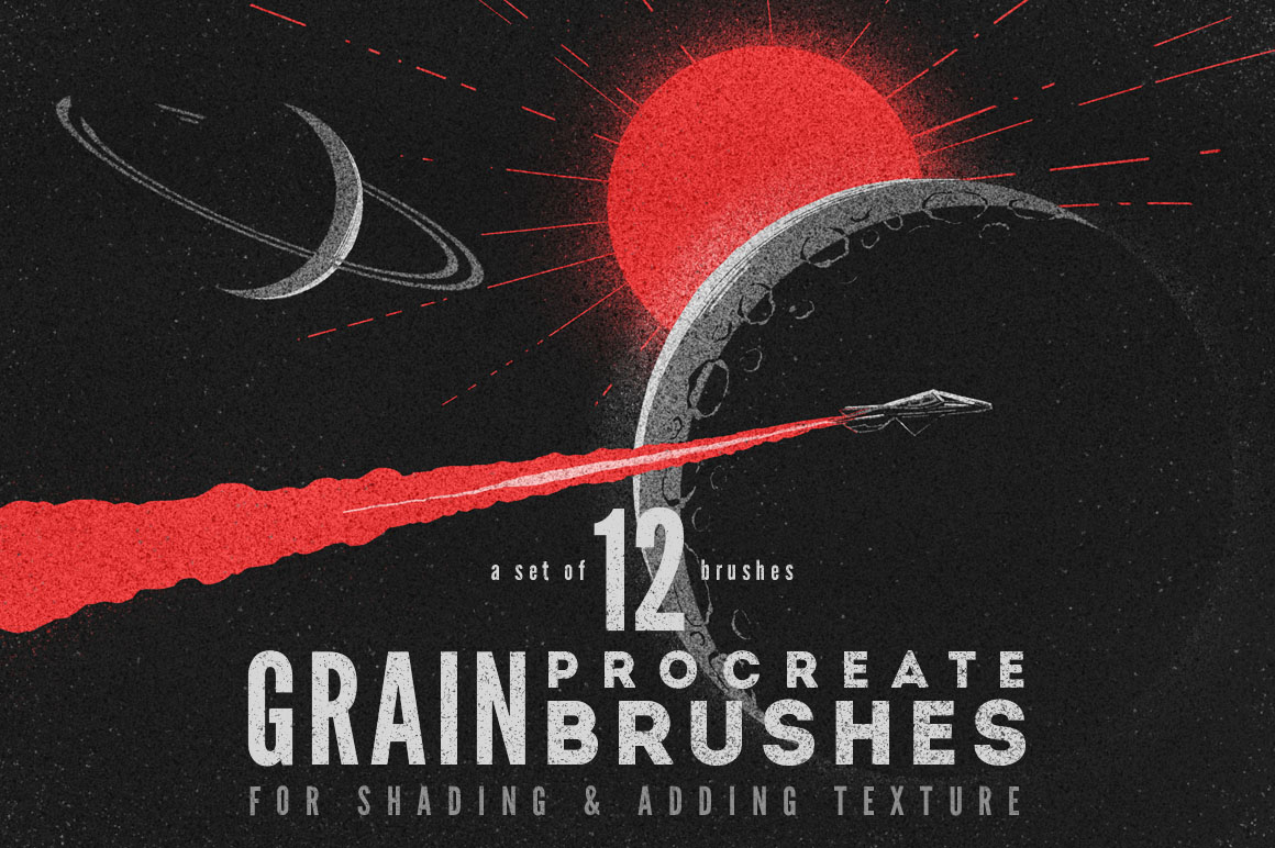 Grain Volume I Procreate Brushes