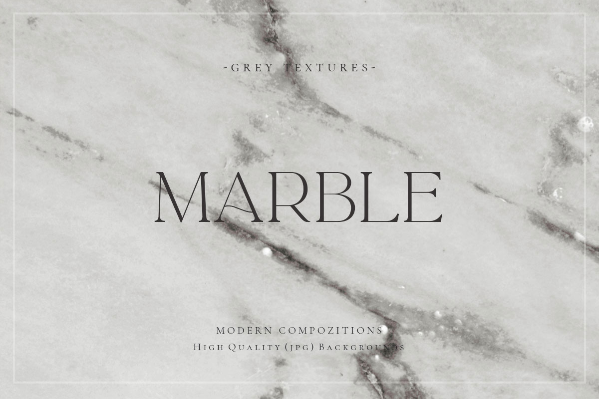 Grey Marble Backgrounds Design Cuts