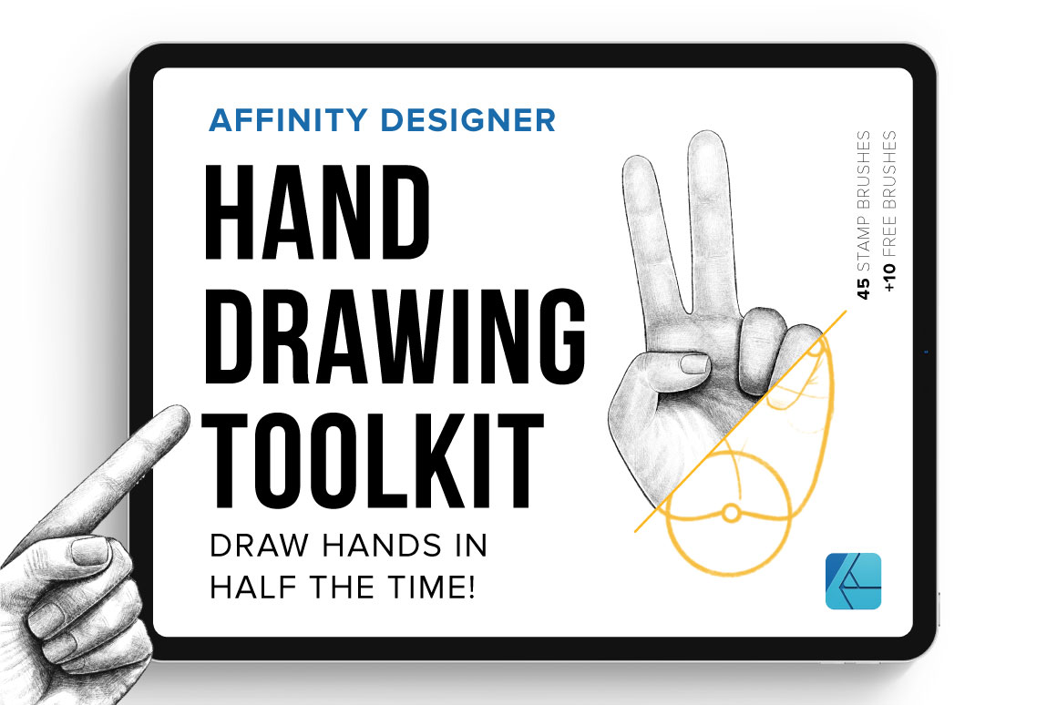 Hand Drawing Toolkit for Affinity Designer