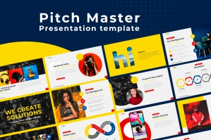 Pitch Master Google Slides