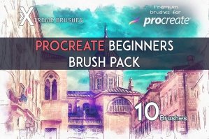 Procreate Beginners Brushpack