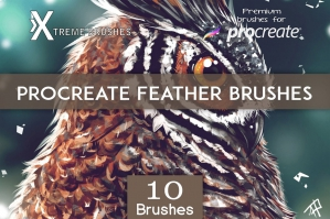 Procreate Feather Brushes