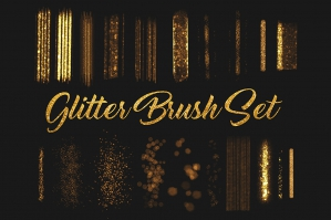 Procreate Glitter Brush Set