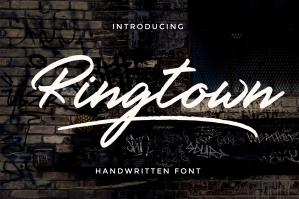 Ringtown Font Duo + Alternates