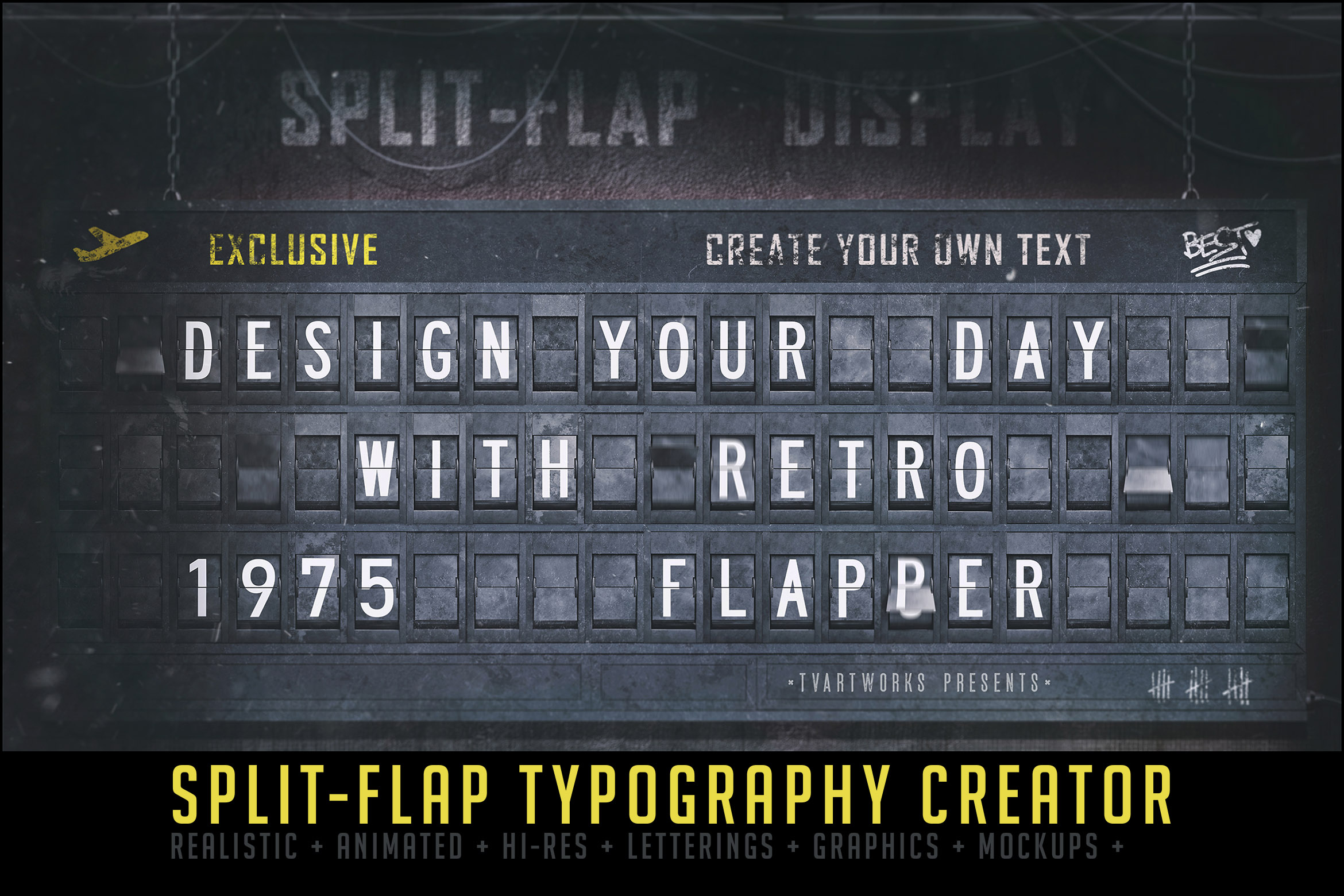 Split-Flap Typography Creator