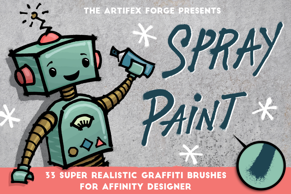 Spray Paint - Affinity Brushes