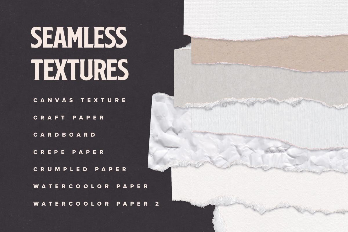 Torn Paper Isolated Cliparts and Mockups