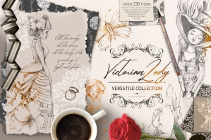 Victorian Lady Versatile Collection