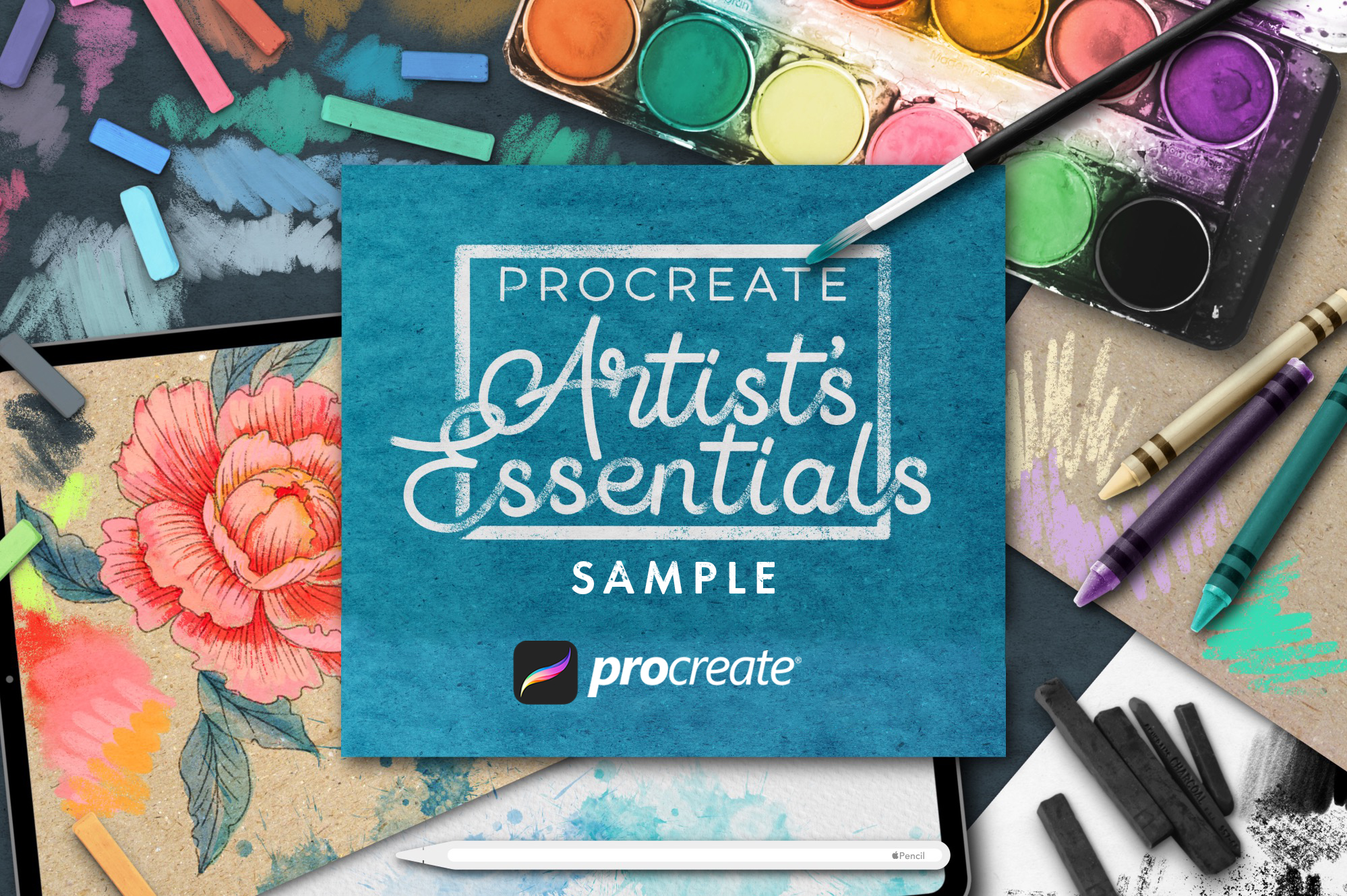 Artist's Essentials For Procreate Sample