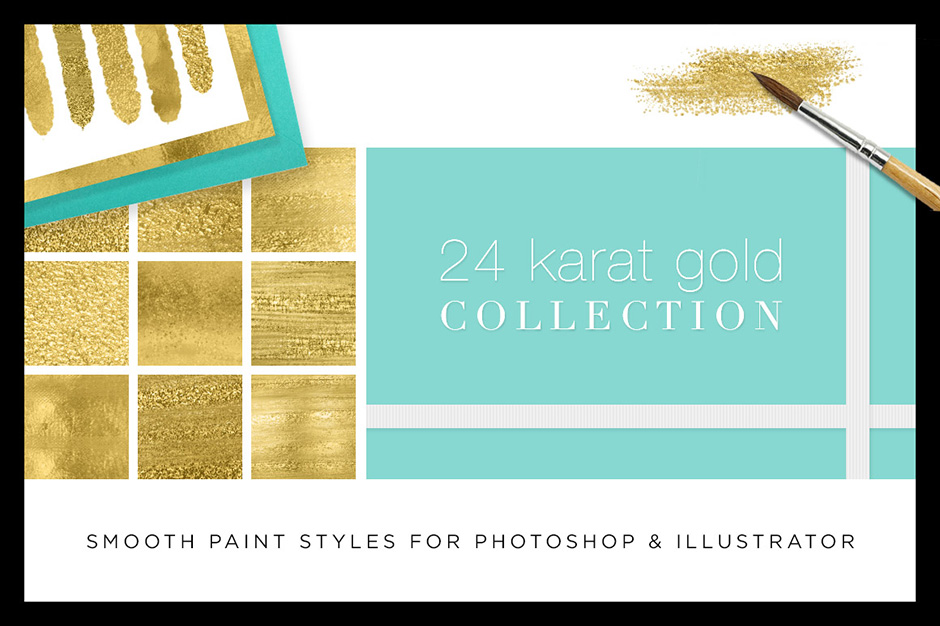 The Best Gold Foil Textures, Patterns and Effects for Your Design Projects