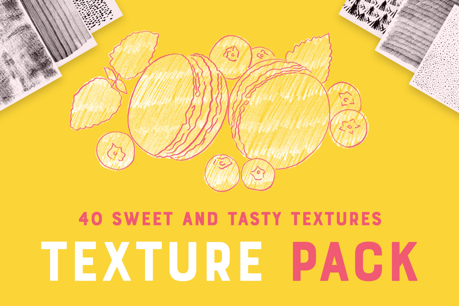 40 Sweet & Tasty Textures Pack