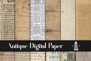 Antique Digital Paper