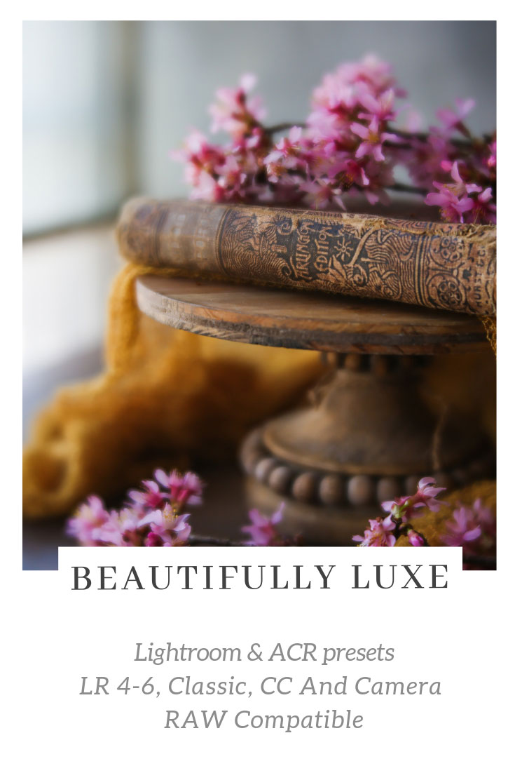 Beautifully Luxe Lightroom/ACR Presets