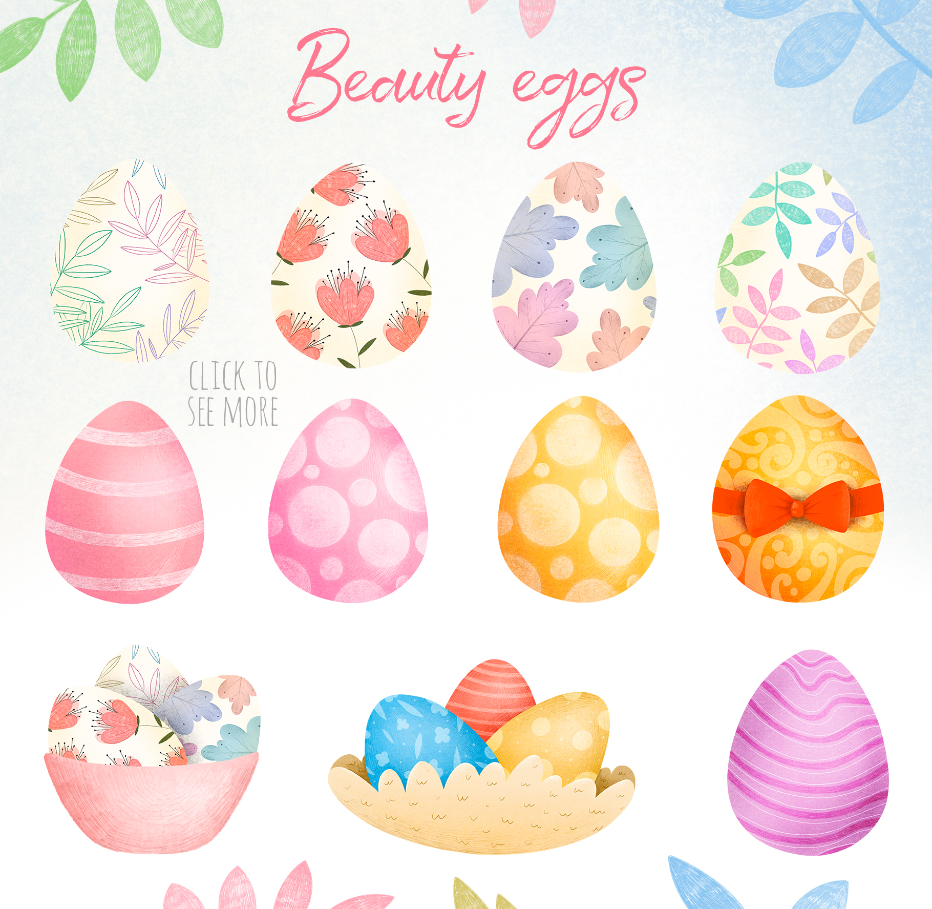 Easter Adventure - Cute Hand Drawn Collection