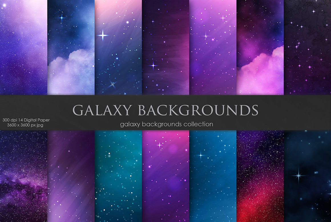 Galaxy and Space Backgrounds