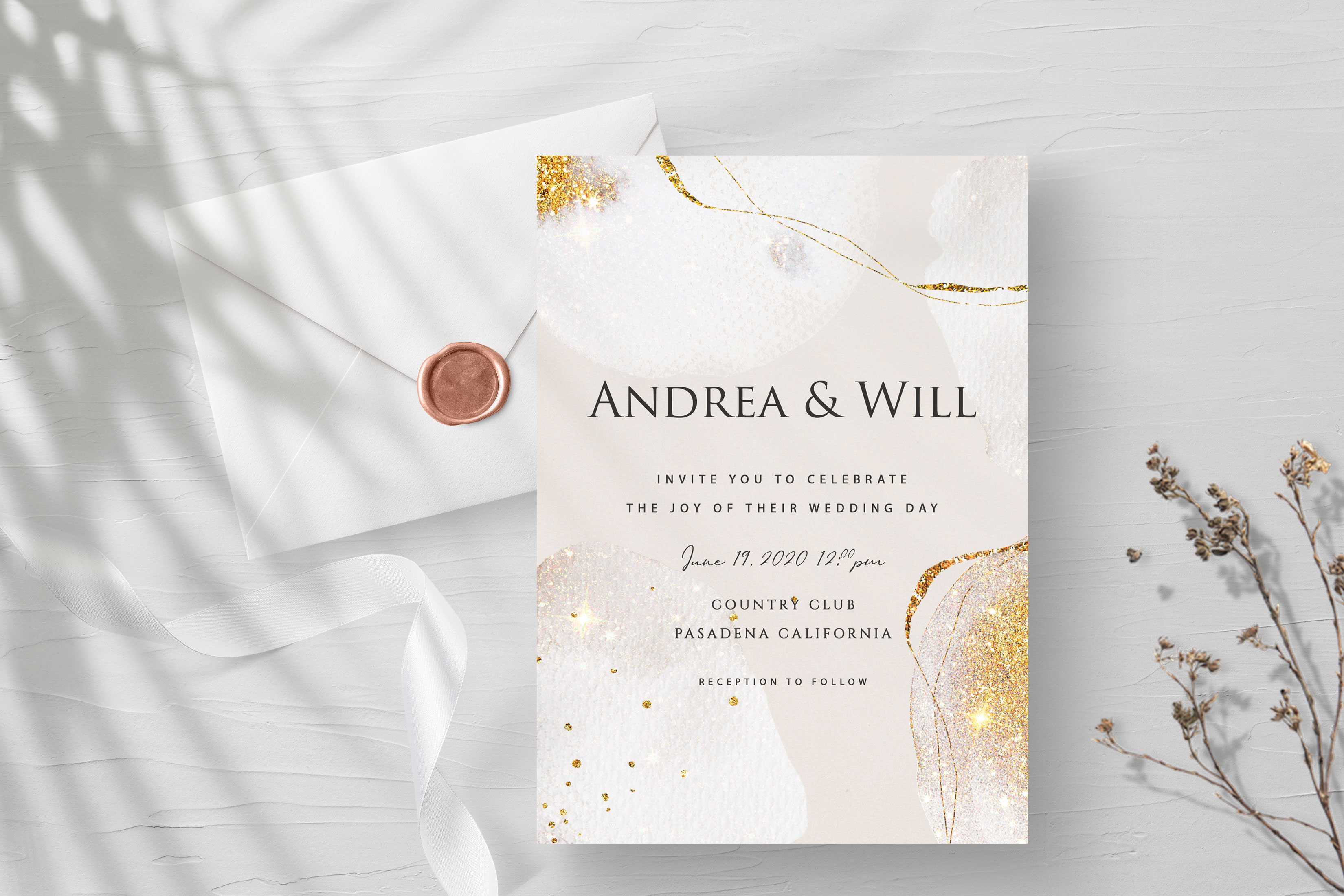 Gold Watercolor Shapes (.PNG) Textures