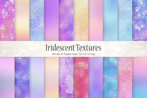 Iridescent Foil Backgrounds