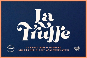 La Truffe - Stylish Didone