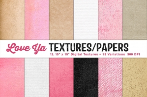 Love Ya Papers and Textures Collection