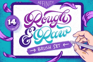 Rough & Raw - Affinity Brushes