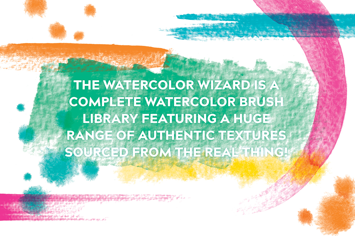 The Watercolor Wizard - Affinity Brushes